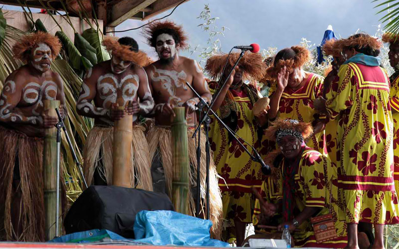 cultures and festivals of new caledonia